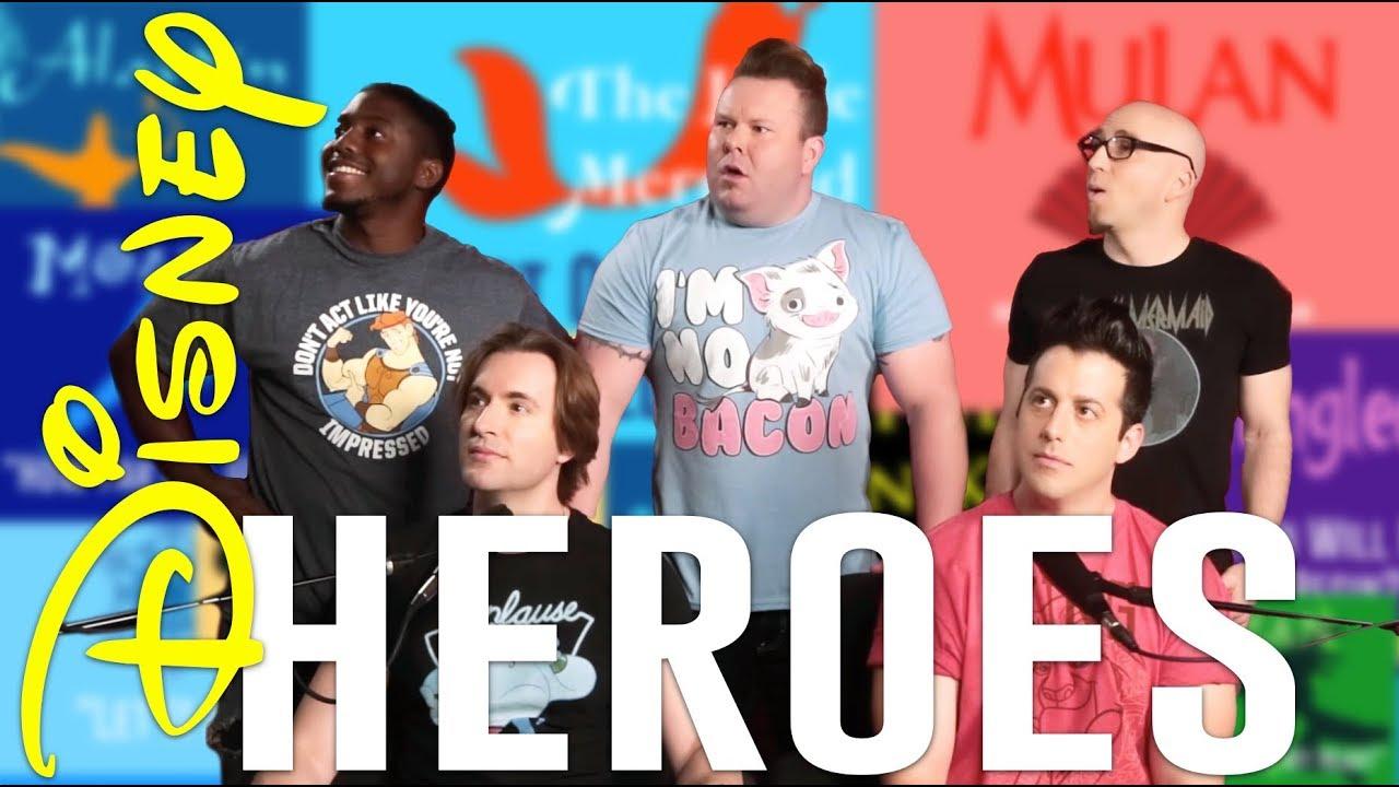 ACA TOP 10 – DISNEY HEROES