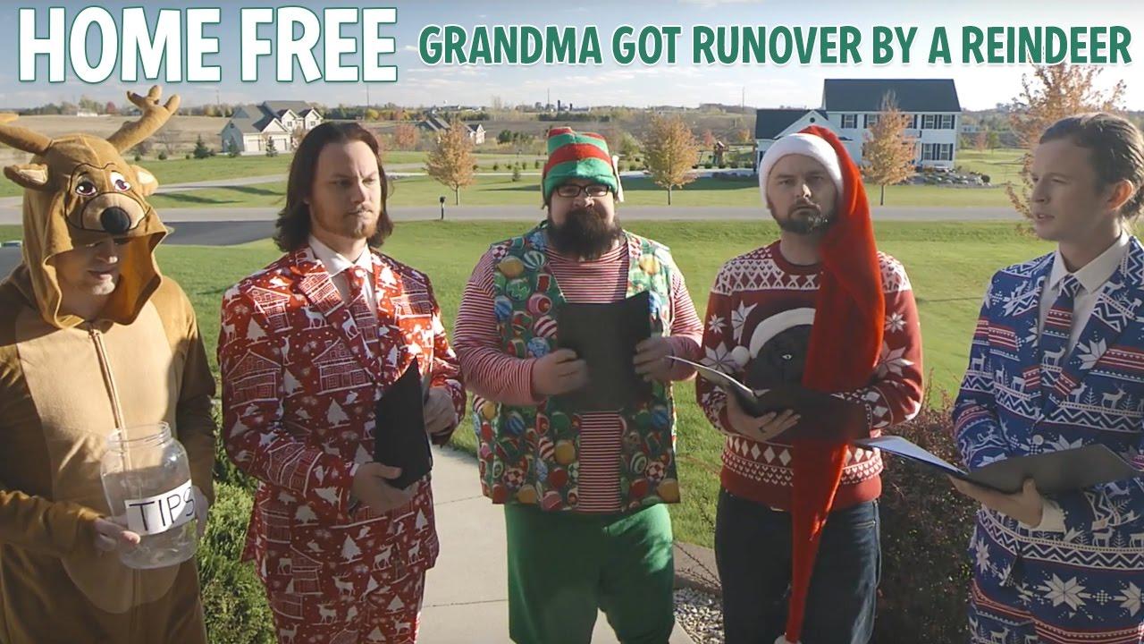 Grandma Got Runover By A Reindeer