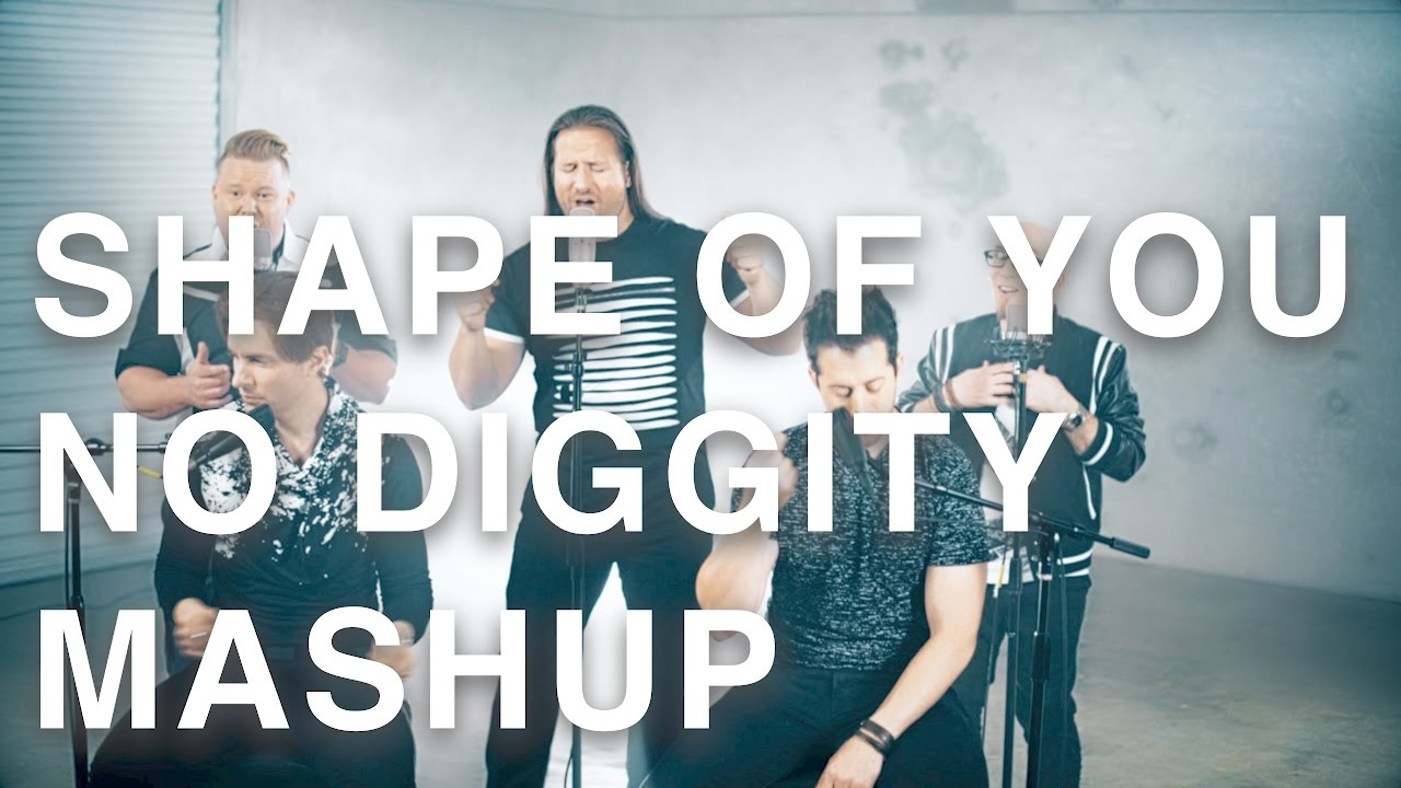 Shape of You / No Diggity Mashup