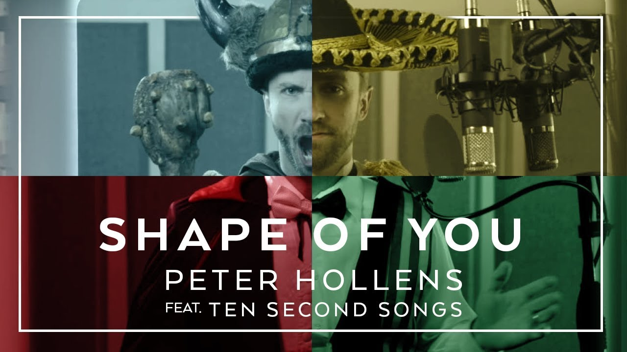 24 Genres. Two Artists. One song – Shape of You