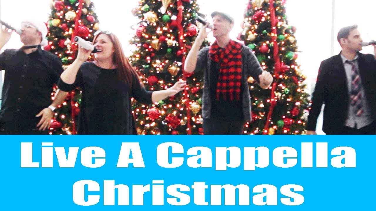 A Cappella Christmas Caroling by Blue Jupiter – Holiday Entertainment for Your Event!