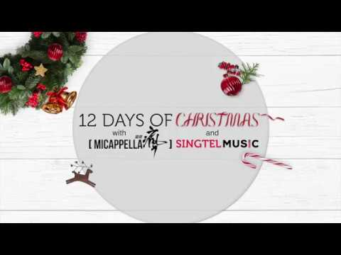 12 days of Christmas with Singtel Music