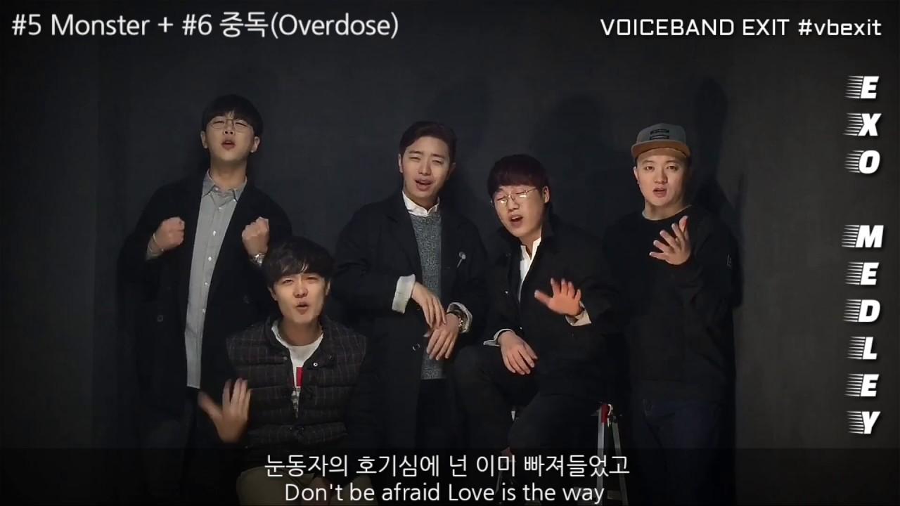 EXO Acappella Medley
