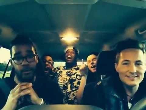 Backstreet Boys Medley in the car