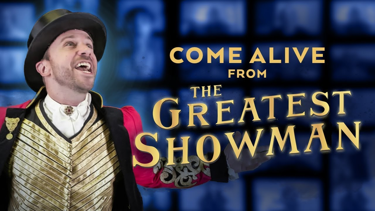Come Alive –  The Greatest Showman feat. My team + the hollensfamily Choir!