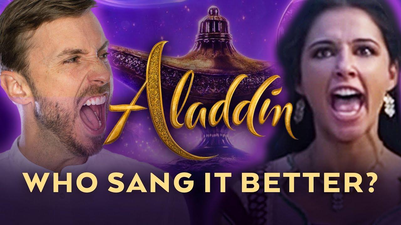 Speechless – Aladdin – Who Sang it Better? (Male Version)
