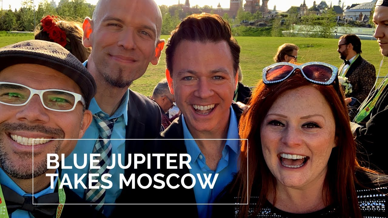 Blue Jupiter A Cappella WINS Audience Favorite in Moscow Spring A Cappella Festival