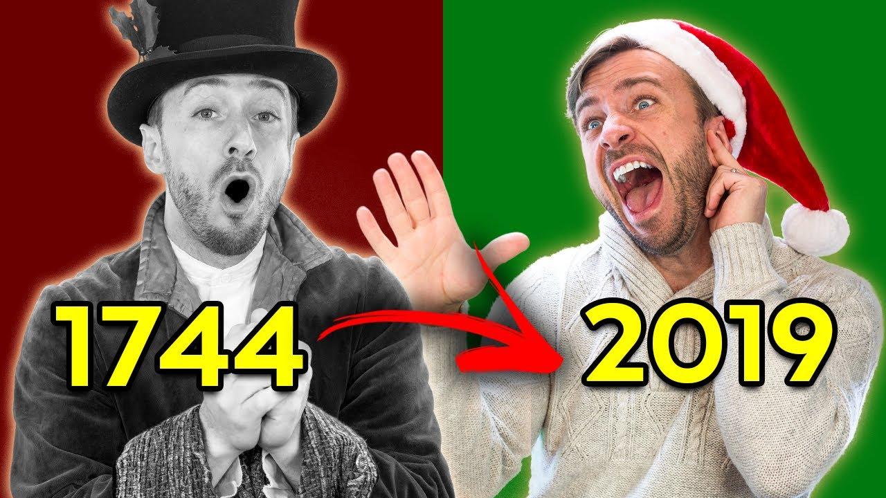 Evolution of Christmas Songs (1744-2019)