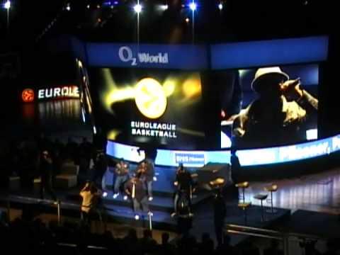 Naturally7 @ Euroleague Basketball  Awards Ceremony 2009