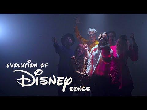 Evolution of Disney Songs Medley feat. Jaze Phua