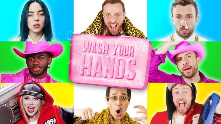 The Epic Hand Washing Parody