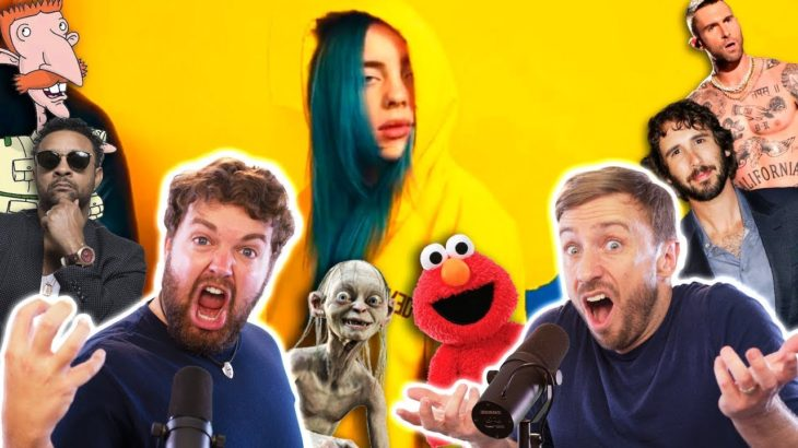 BILLIE EILISH : Bad Guy – 21 Characters SING (feat @Brian Hull)