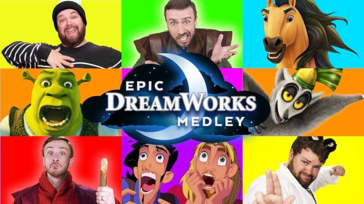Epic Dreamworks Impressions Medley  – Peter Hollens ft. Brian Hull