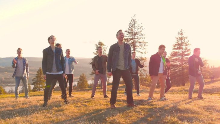 The Climb | BYU Vocal Point ft. Peter Hollens