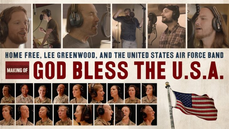 """Home Free – Making of """"God Bless The U.S.A."""" feat. Lee Greenwood and the U.S. Air Force Band"""