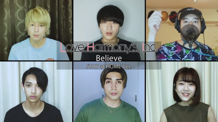 Love Harmony's, Inc.『Believe』STAY at HOME Ver. Official Music Video