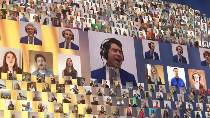 800 musicians from 55 countries combine to create a stunning virtual video – Nearer, My God, to Thee
