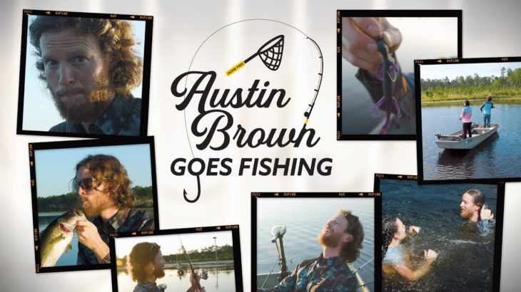 Austin Brown of HOME FREE Goes Bass Fishing on a GIANT private lake! 🐟