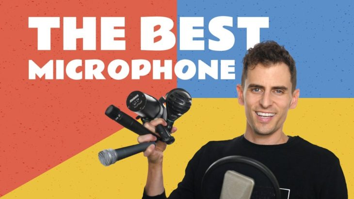 the BEST microphone for singing