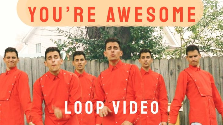 you're awesome  (loop)