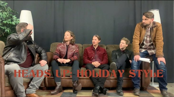 Home Free plays Heads Up: Holiday Style