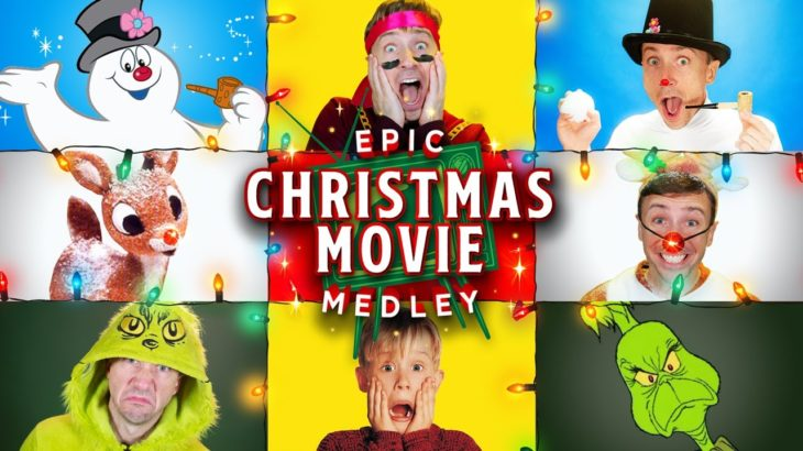 Epic Christmas Movie Medley – Peter Hollens feat Brian Hull and Geoff Castellucci