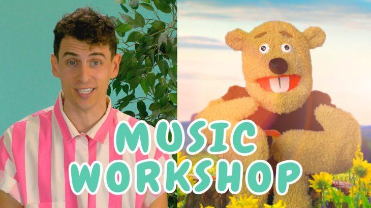 Teaching Music to Kids – Rhythm Mini-Lesson – Mikes Music Workshop – Online Music Class