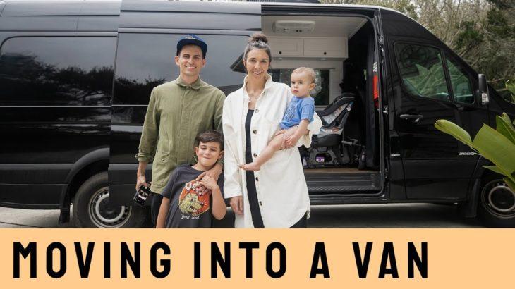 VAN LIFE | Family of FOUR | Sprinter Van Conversion | Bunk Beds