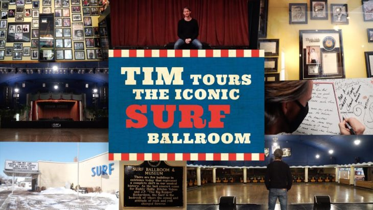 Home Free – Tim Tours the Iconic Surf Ballroom