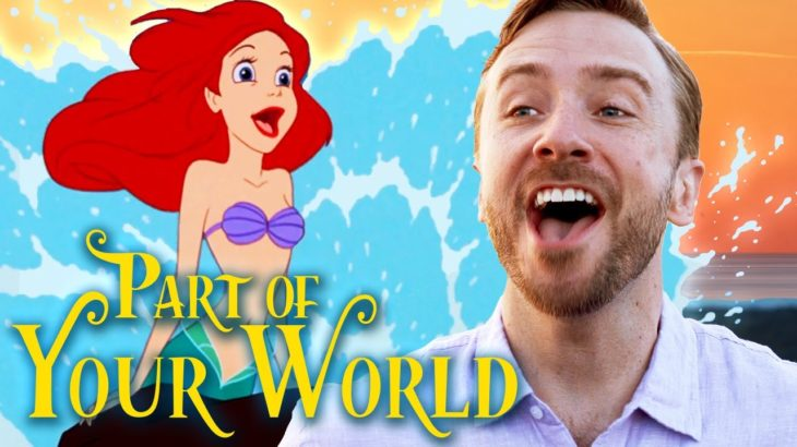 Part of Your World (Male Cover) Disney's The Little Mermaid | Peter Hollens