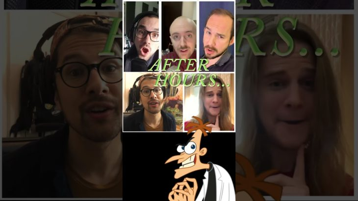 Doofenshmirtz Theme Song AFTER HOURS VERSION! (by Accent) #shorts #phineasandferb #danpovenmire