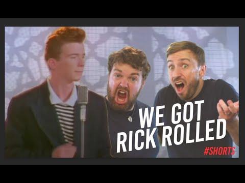 We Got Rick Rolled – Impressions Style Aca Battle – #shorts