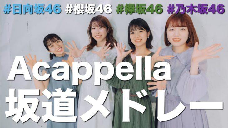 アカペラ坂道メドレー【 乃木坂/櫻坂/日向坂/欅坂 】