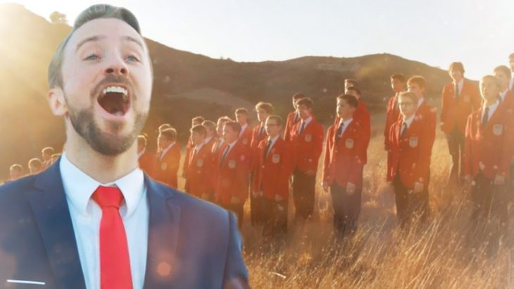 How Great Thou Art | Peter Hollens feat. The All American Boys Chorus