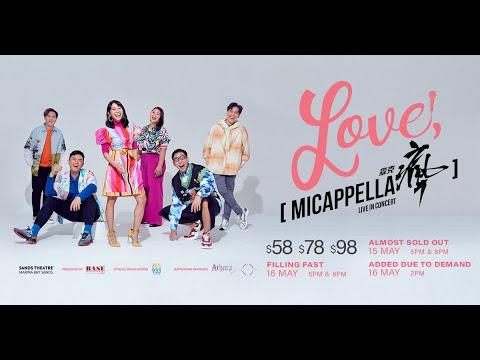 Love, MICappella Live In Concert Trailer