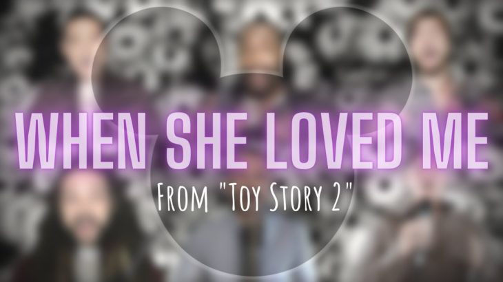 """m-pact – """"When She Loved Me"""" (from Toy Story 2)"""